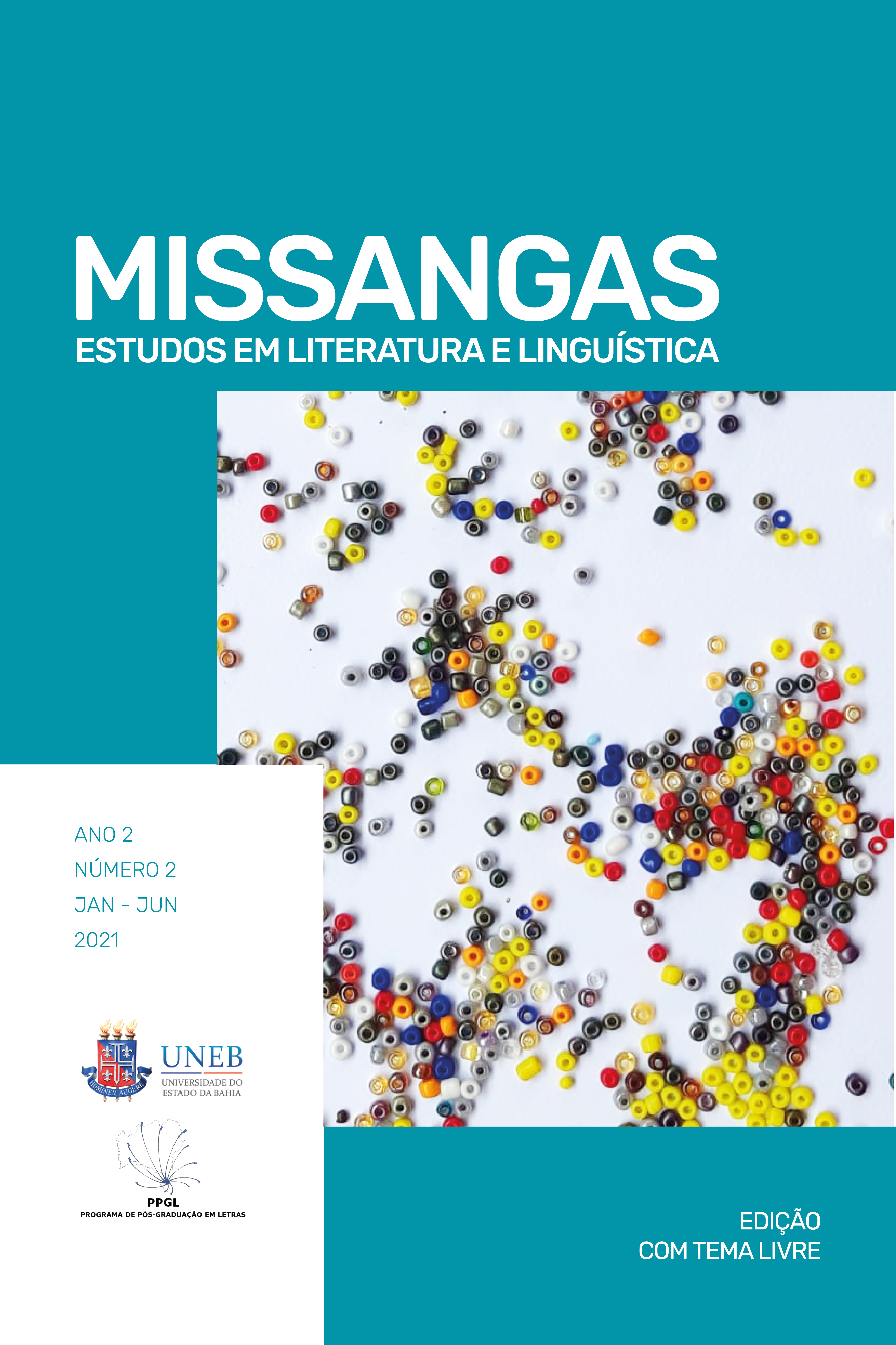Missangas, v.2, n.2, 2021 - Tema Livre